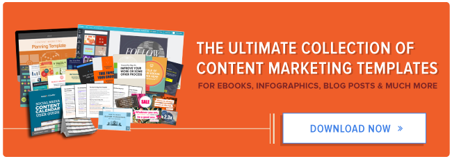 The Ultimate Collection Of Free Content Marketing Templates - Content creation template