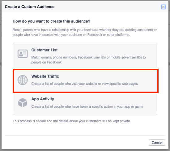 Image result for create custom audience