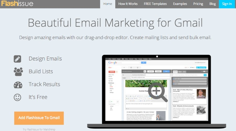 Flashissue: Create beautiful bulk email campaigns in Gmail | 10