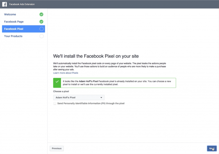 how to set up facebook pixel