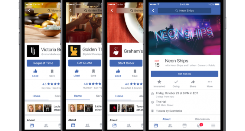 New Call-to-Action Button Options for Facebook Pages