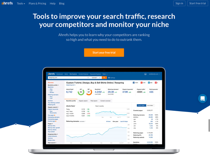 Ahrefs Homepage Design   20 Of The Best Website Homepage Design Examples