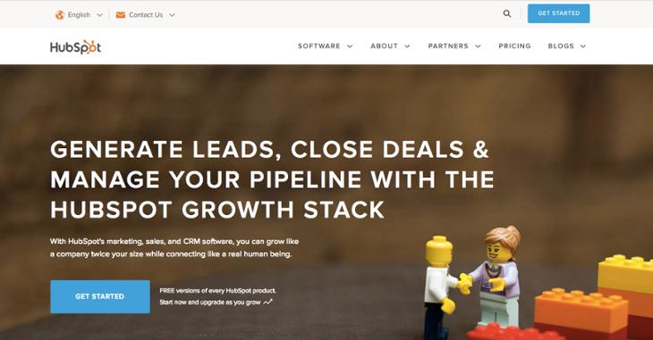 Hubspot Homepage Design Update   20 Of The Best Website Homepage Design  Examples